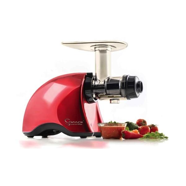 Omega Sana Slowjuicer Prezzo : Sana Juicer by Omega - mere plads til ingredienser i maskinen end for