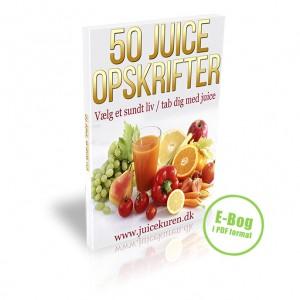 50 juiceopskrifter - e-bog (PDF)