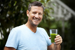 Mean Green juice - Grøn Juice opskrift til vægttab og sund livsstil
